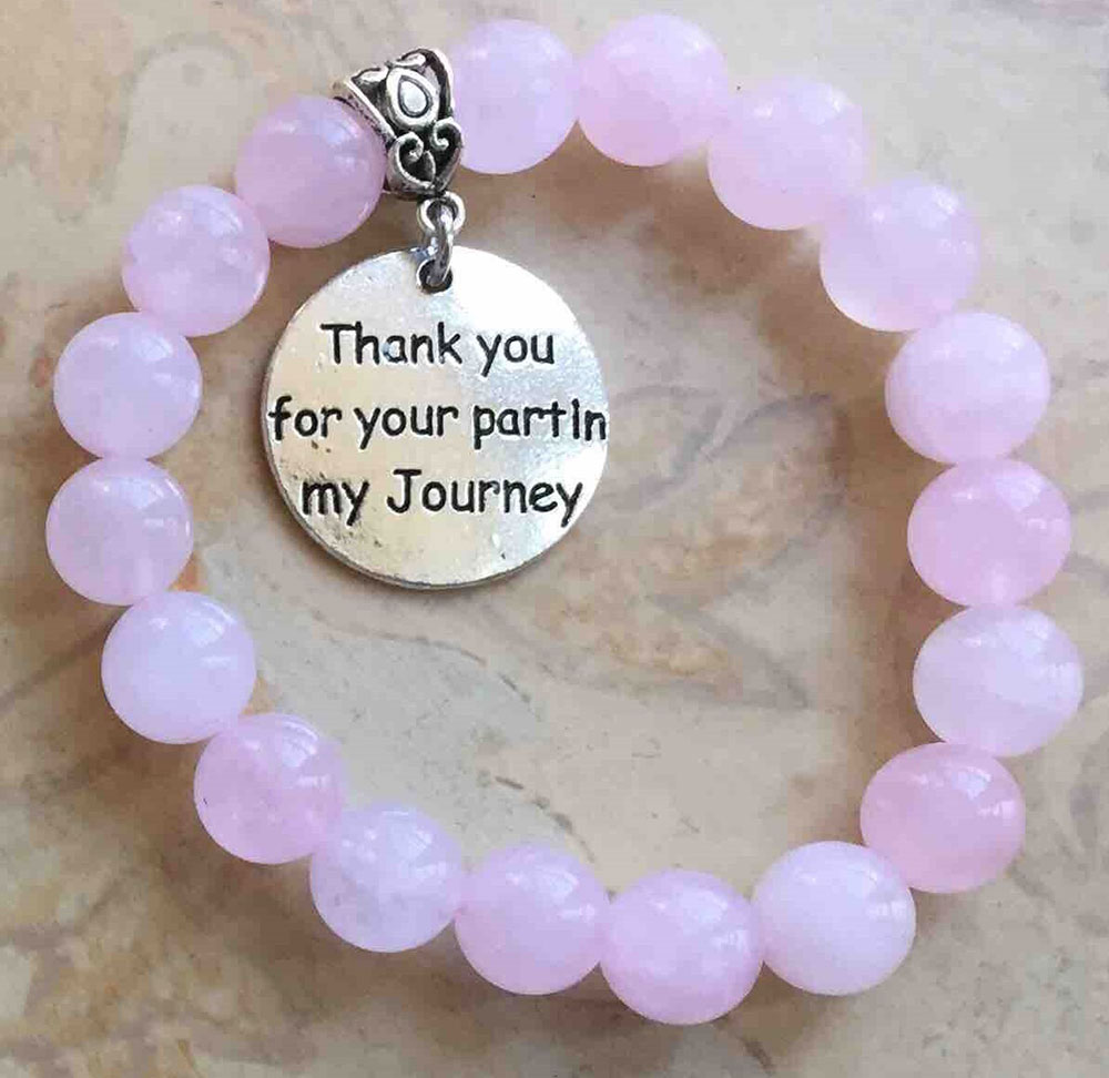 Thank You For Your Part In My Journey Bracelet Peggy S Midnight Creations
